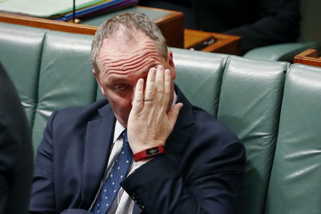 Tense times for Barnaby