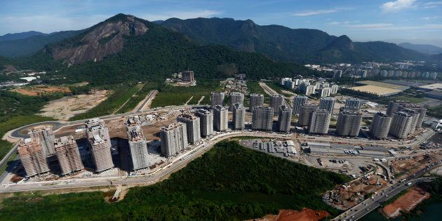 The Rio 2016 Olympic Games athletes' village. If the apartment tower is rockin', don't bother knockin'...