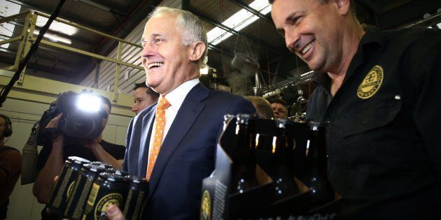 Malcolm Turnbull visited the Mornington Peninsula Brewery on