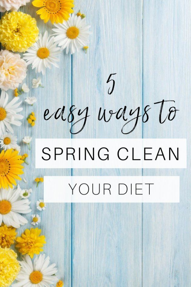 5 Easy Ways To Spring Clean Your