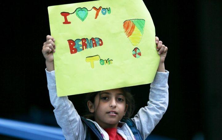 A rare Bernard Tomic fan who's not Bernard Tomic.