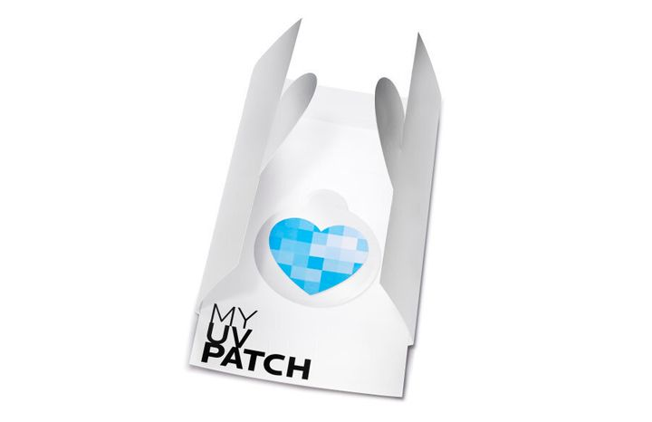 The super thin patch is designed to be worn for up to five days.