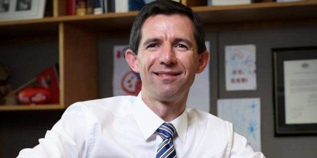 Education Minister Simon Birmingham says a new VET model will be