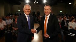Malcolm Turnbull And Bill Shorten Face Off In Particularly Polite Leaders'