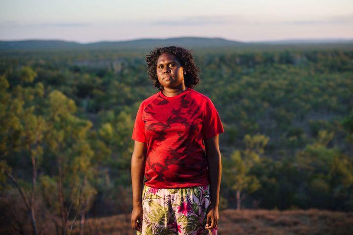 Angelina Joshua lives in remote East Arnhem Land.