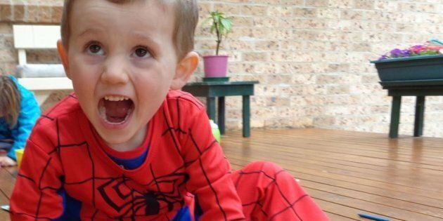 The then three-year-old Spiderman fan disappeared from outside his foster grandmother's home in September