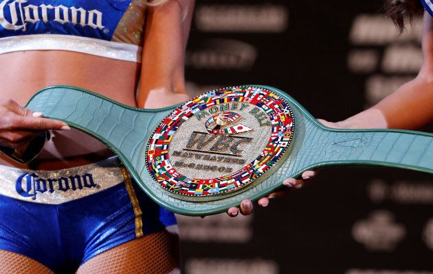 An object lusted after by two vulgar fighters. Sadly, we're not talking about the belt.