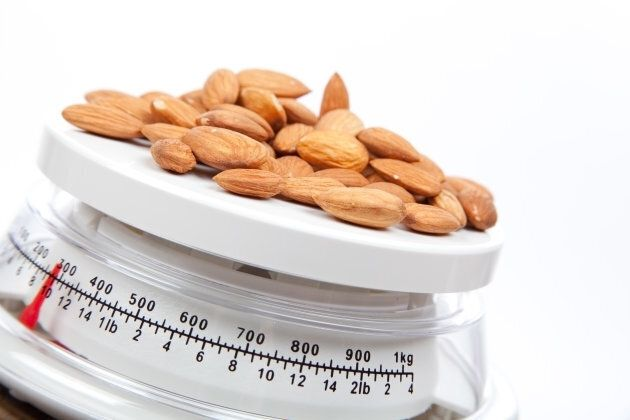 One serve of nuts is 30 grams.