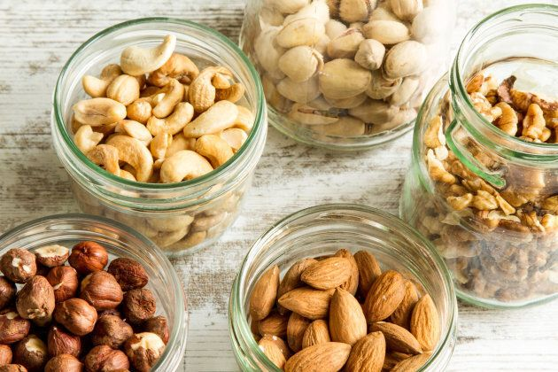 A daily serving of 30g of nuts is recommended.