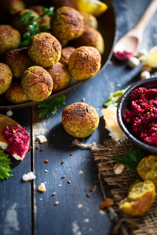 Include more plant-based protein foods like falafels, tofu and