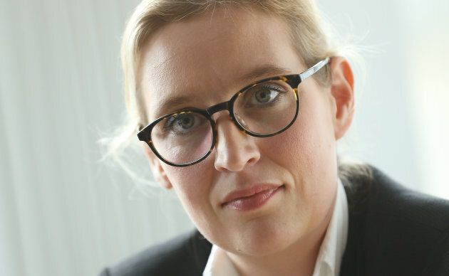 Alice Weidel, co-lead candidate of the right-wing, populist Alternative for Germany (Afd) political