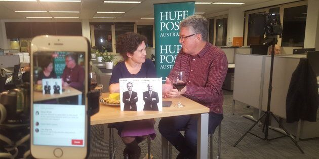 Annabel Crabb and David Marr joined HuffPost Australia for a live Facebook