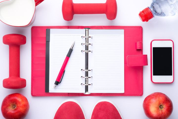 Writing your goals down on paper can help.