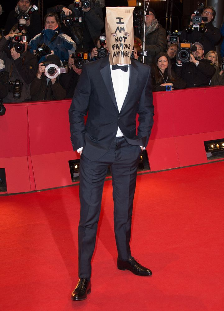 LaBeouf attends the premiere for 'Nymphomaniac'.