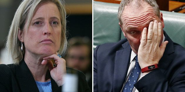 Katy Gallagher is now in the spotlight. Barnaby Joyce has been there for