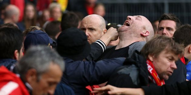 Football authorities should not be copping this sort of thing on the chin.