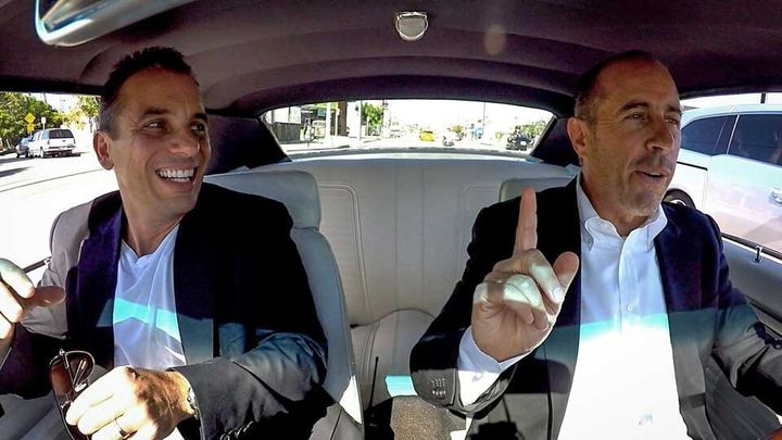 Sebastian Maniscalco joins Jerry Seinfeld as his guest on Comedians In Cars Getting Coffee.
