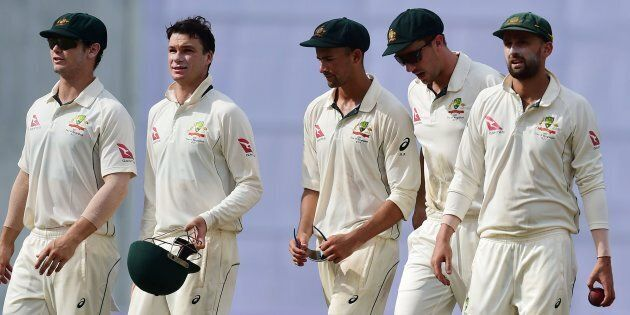 Australia's Batsmen Are Crumbling Again In First Test Against