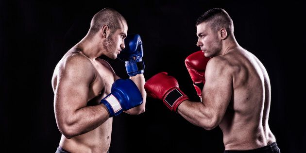 Cage fighters are taught to embrace fear. What is their secret weapon?