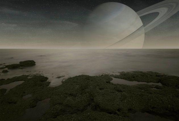 Saturn's biggest moon Titan resembles the prehistoric