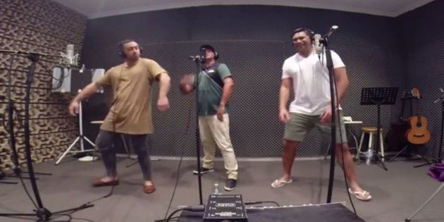 The Koi Boys singing Meghan Trainor's 'All About That