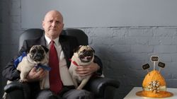 David Leyonhjelm And Two Pugs Release The Weirdest Election Ad