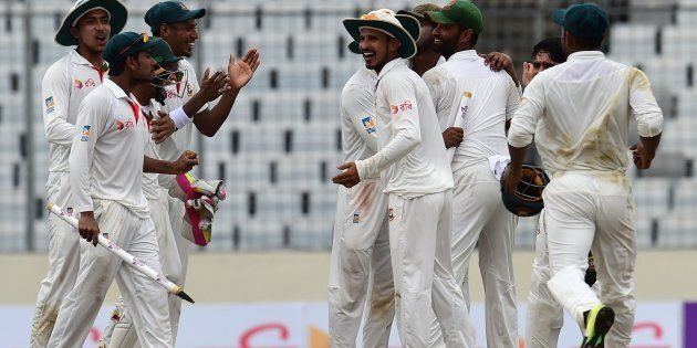 History As Bangladesh Beats Australia By 20 Runs In First Test In