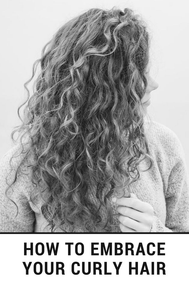 How To Embrace Your Curly