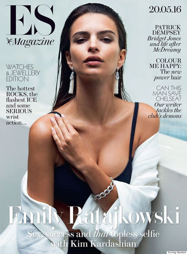 Emily Ratajkowski Says Being A Sexy Actress Is