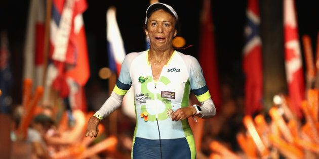 Turia Pitt is also an inspirational speaker and