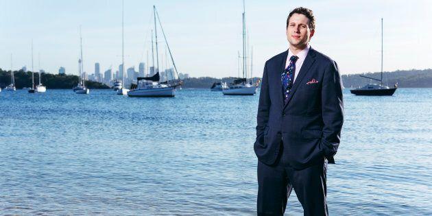 ALP candidate for Wentworth Evan Hughes.