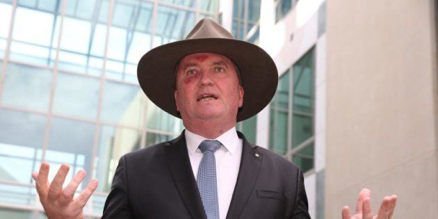 Deputy Prime Minister Barnaby Joyce says