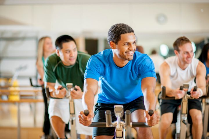 Spin is an effective way to burn calories.