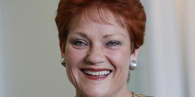 Senator Pauline Hanson says the American people will decide
