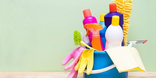Not all cleaning products can cause chemical