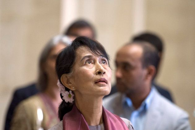 Aung San Suu Kyi is facing increasing backlash over her response to the