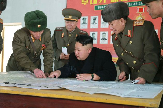 North Korean leader Kim Jong Un inspected a hydrogen bomb that will be loaded on a new intercontinental...