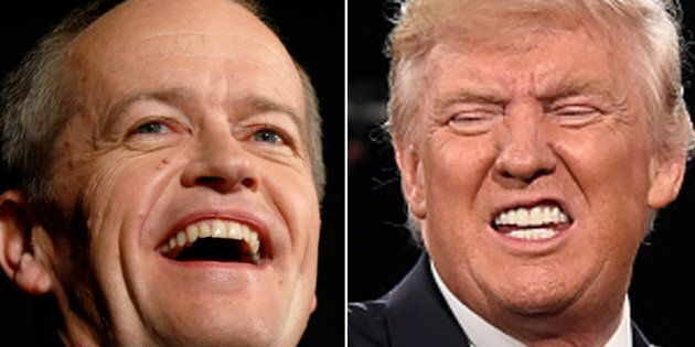 Bill Shorten Says Trump 'Entirely Unsuitable' To Be