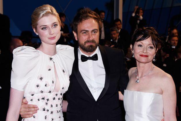 Elizabeth Debicki, Justin Kurzel and Essie Davis attend the Premiere of 'Macbeth' during the 68th annual...