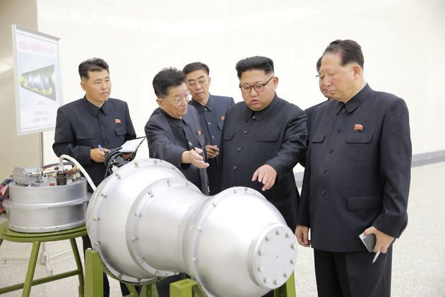 North Korean leader Kim Jong Un called for the test of a hydrogen