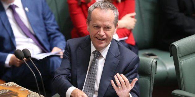 Opposition Leader Bill Shorten in