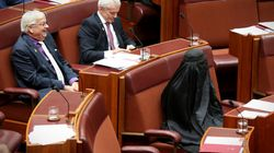 Senate Standards May Have To Be Raised After Hanson's Burqa