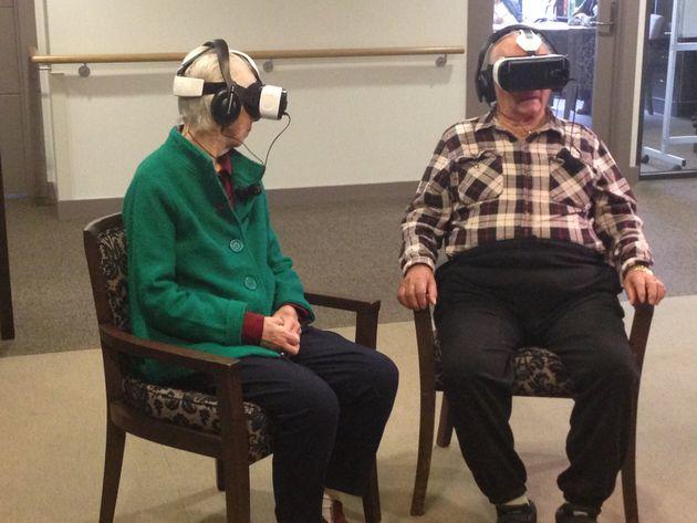 Can Virtual Reality Trigger Long Locked Away
