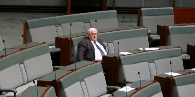 Clive Palmer's time in parliament is