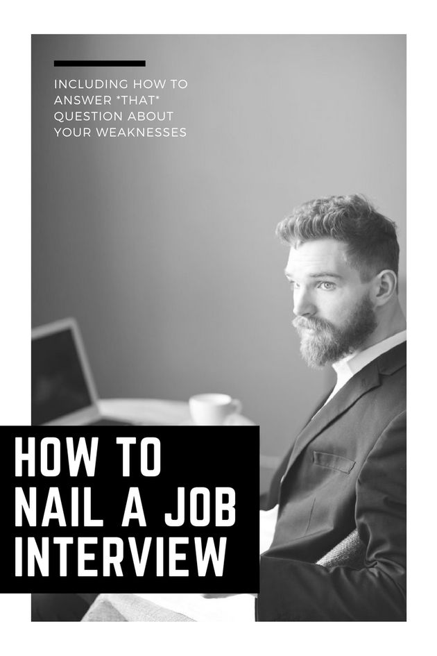 How To Nail A Job