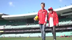 Sydney Swans Finally Find Blind Fan, Treat Him To A Day At The