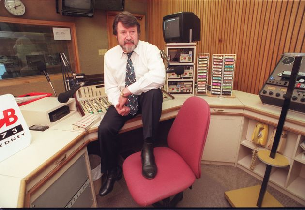 Hinch, in his days on 2GB radio in
