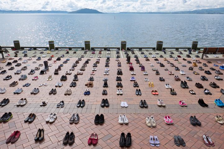 The Shoe Project was designed to bring awareness to the fact that suicide can affect anyone, from any walk of life.