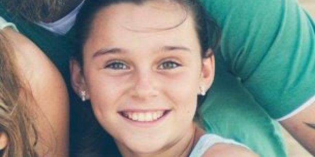 Mercedes King, 14, is in a Brisbane ICU battling a severe case of influenza B.