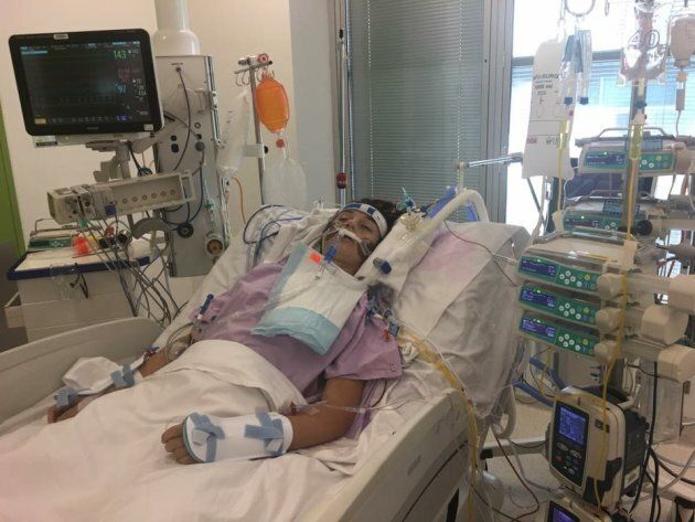 What started out as the flu has developed into pneumonia, sepsis and an unidentified bacterial infection for 14-year-old Mercedes King.